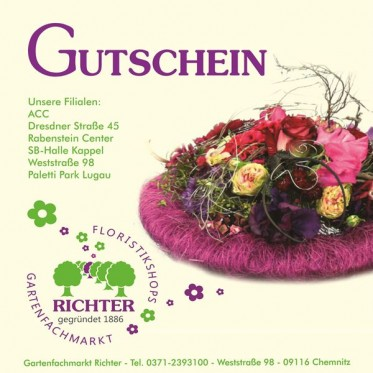 gutscheincard blumenbote chemnitz ihr blumenversand. Black Bedroom Furniture Sets. Home Design Ideas