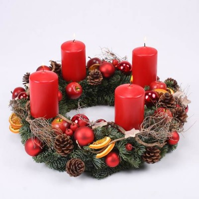 Advent, Advent... | Adventskranz